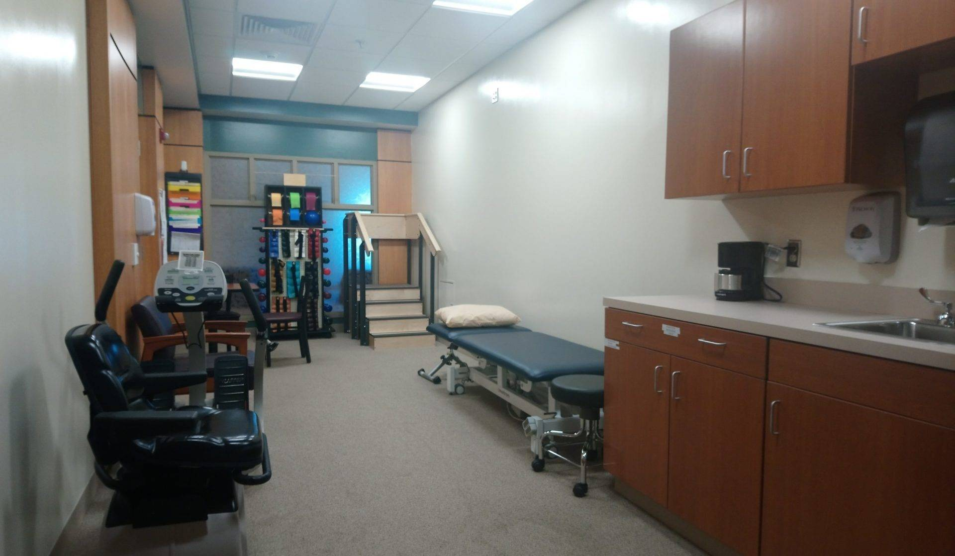 inpatient or swing bed rehab room on 3rd floor